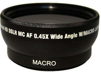 PRO 2X Telephoto & Wide Angle Lens Kit For Fuji 18-55mm 27mm 18mm 55-230mm 50mm