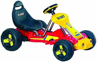 Electric Ride-On Go Kart Battery Operated Kids Children Race Car Age 3-5