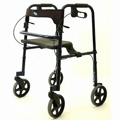 NEW Invacare TALL 4/Four Wheel Rollator Walker 68100-TA Preowned
