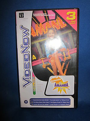 Video Now Color 3 Disc Pack AS2 The Amanda Show