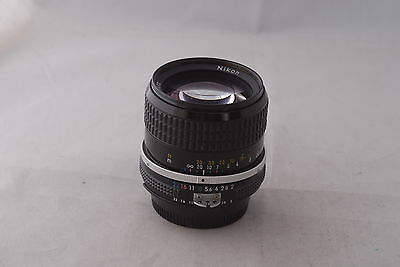 Nikon 85mm f/2.0 Nikkor Ai Lens in Excellent+ Cond.