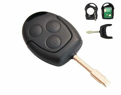 fits FORD Focus Mondeo Fiesta C-max 3 Button Remote Key 433Mhz
