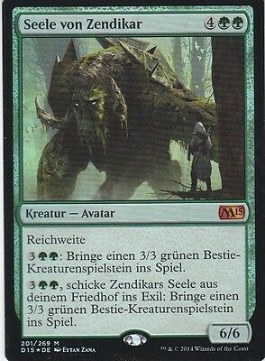MAGIC Seele von Zendikar FOIL deutsch Soul of Zendikar / Planeswalkers Promos