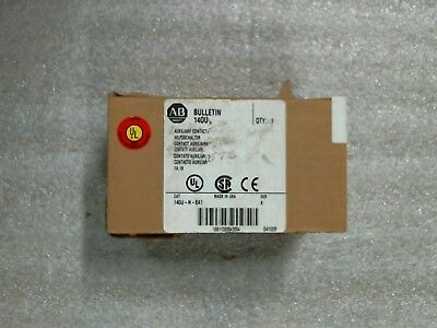 NIB Allen-Bradley 140U-H-EA1 cb aux contact  60 day warranty