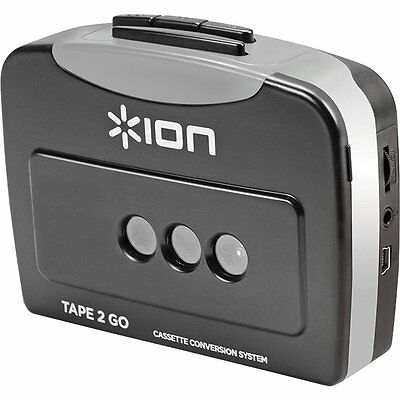Transfer Audio Tape 2 Go Cassette Player Converter USB Cable Computer MP3 Enjoy!