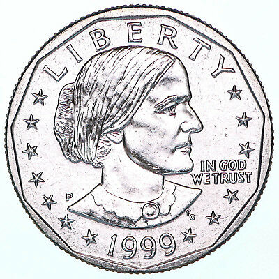 1999 P Susan B Anthony Choice BU Dollar US Mint Coin