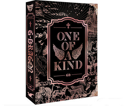 G-Dragon Bigbang 1St Mini Album [Bronze Ver] One Of A Kind Cd+Poster+Free Gift