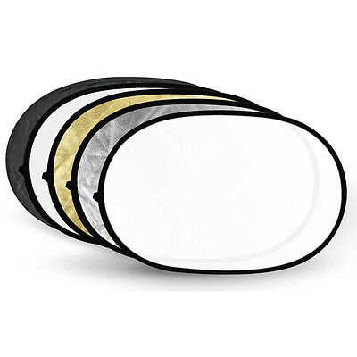"Neeewer 60cm*90cm / 24""*36""  5 in 1 Collapsible Multi Disc Light Reflector"