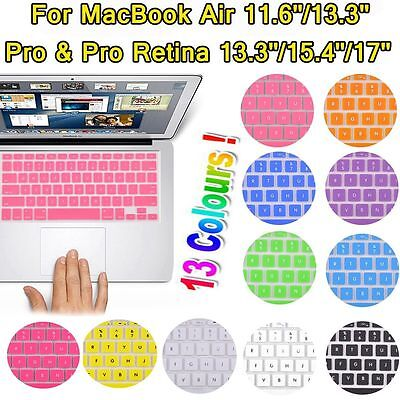 "Keyboard Soft Case for Apple MacBook Air Pro 13.3"" 15.4"" 17 inch Cover Protector"