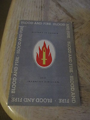ORIGINAL WWII UNIT HISTORY OF THE 63RD INFANTRY DIVISION PATH TO VICTORY
