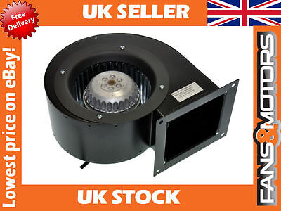 Industrial Extractor Fan, Centrifugal Blower Motor, Direct Drive, Single Inlet
