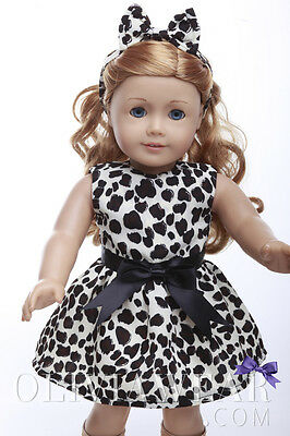 American girl doll clothes handmade dress Collection #51 Fits 18 inch Dolls
