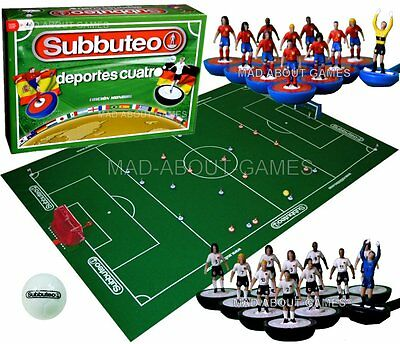 Subbuteo SPAIN vs GERMANY Mundial Set Football Soccer Board Game Toy Miniatures