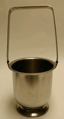 *RARE* VINTAGE 1951 LEGION UTENSILS TALL CHAMPAGNE ICE BUCKET WITH HANDLE