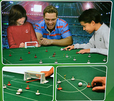 FOOTBALL CHAMPIONS LEAGUE Board Game Set Football Soccer Game Toy Subbuteo