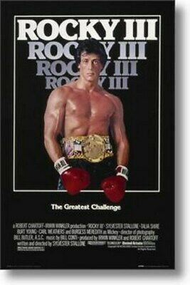 ROCKY 3 MOVIE POSTER The Greatest Challenge