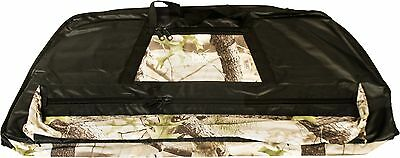 Deluxe Soft-sided Archery Bow Case - Black w Camo Accents or Black