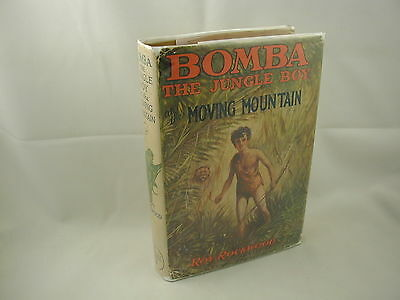 Bomba the Jungle Boy at the Moving Mountain #2 Roy Rockwood Cupples 1926 DJ