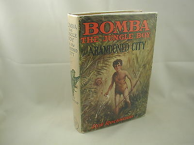Bomba the Jungle Boy in the Abandoned City #5 Roy Rockwood Cupples 1927 DJ