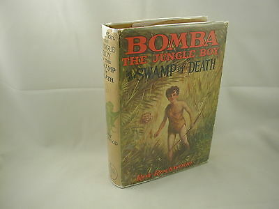Bomba the Jungle Boy in the Swamp of Death #7 Roy Rockwood Cupples 1929 DJ
