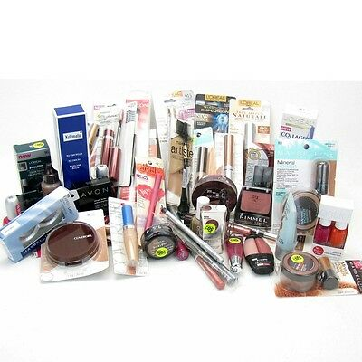 30x MIXED COSMETICS BRANDED MAKE UP PARTY BAG WHOLESALE BUNDLE JUST 33p EACH