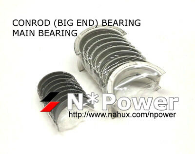 Conrod & Main Bearing Set Std For Toyota 1Hz 1Hd-T 1Hd-Ft 1Hd-Fte Landcruiser