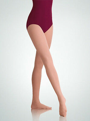 Body Wrappers Women Plus Size Footed Dance Tights, Style A30X