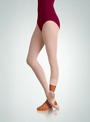 Body Wrappers Women Plus Size Convertible Dance Tights, Style A31X