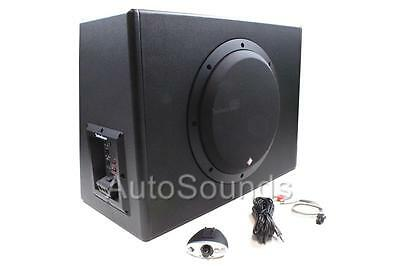 "Rockford Fosgate P300-10 300 Watts 10"" Powered Amplified Subwoofer Enclosure Box"