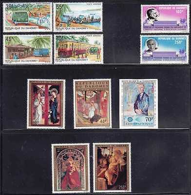 Dahomey #c58//c254 Used 32 Different, Cv$70.00 Gt94