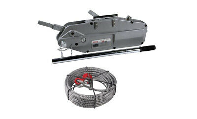 Toyo Anchor Tugger Wire Rope Winch Turfer Hoist Cap 1.6 or 3.2Ton 20m Wire