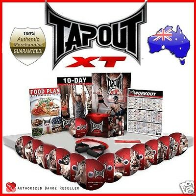 Danoz TapouT XT Fitness Program + DVDs + Body Band + Loop Band + WARRANTY