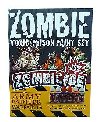 Army Painter  Zombicide: Toxic/Prison Expansion Paint Set | Farbset, Zombies