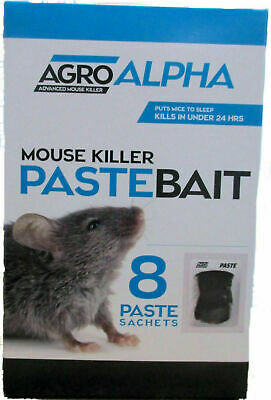 Jade rat & mouse mice poison killing bait bromadilone. kills rodents fast