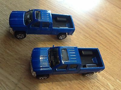 2014 Matchbox Chevy Silverado 1500 Loose Lot Of 2