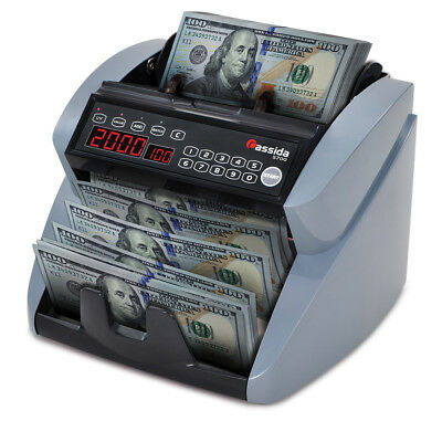 Cassida 5700 Professional Grade Currency Counter w/ UV Counterfeit Detection