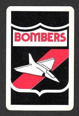 Vintage Swap/Playing Card - Bombers - Essendon