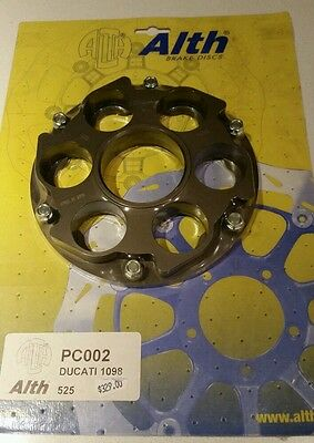 Ducati sproket carrier and sprockets