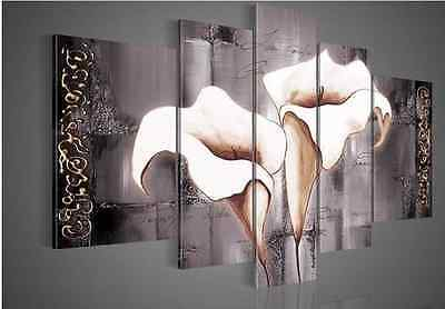 hand-painted wall flower Landscape oil painting on canvas (no framed) P033