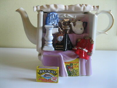 "CARDEW VERY LARGE COLLECTABLE TEAPOT ""ANTIQUE MARKET STALL"" NOW DISCONTINUED"
