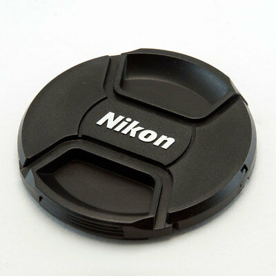 Nikon Lc-52 52Mm Centre Pinch Clip On Lens Cap For Nikon With Cap Keeper Cord