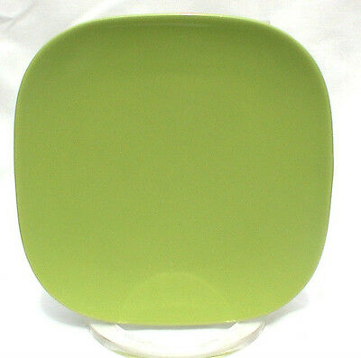 """FRANCISCAN TIEMPO LIME GREEN SPROUT 6"""" PLATES TWO"""