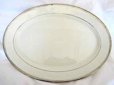 "Syracuse China ""Countess"" Made in America Small Platter 12.5"""