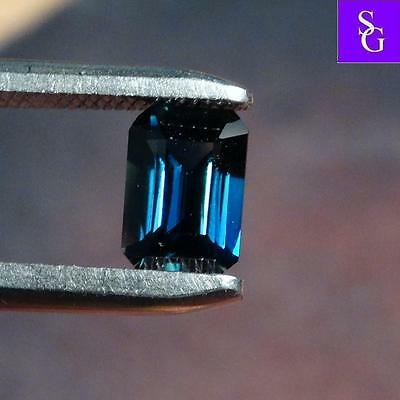 "Australian Faceted Natural Blue 1.21 ct Sapphire ""Stunning_Gemstones"""