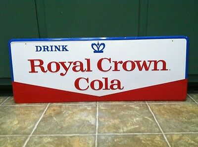 Nice Royal Crown Advertising Sign Not Coca Cola