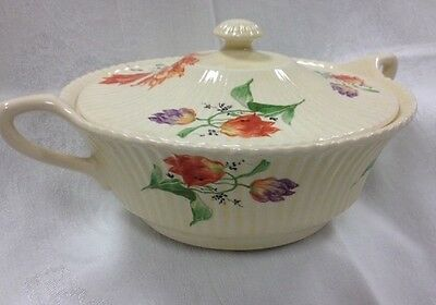 VINTAGE EDWIN KNOWLS COVERED SERVING DISH VEGETABLE DISH- MARION