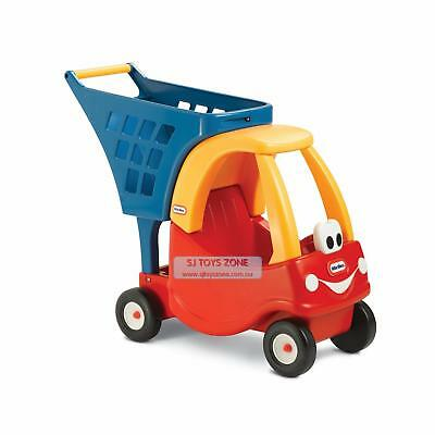 NEW Little Tikes Cozy Coupe Shopping Cart Trolley Pretend Play Kitchen Shop Toy