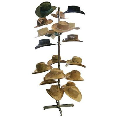 Outfitters Hats Rack Stand Storage Commercial Cap Retail Spinner Hanging Shop 20