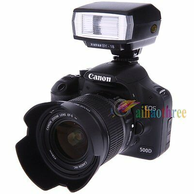 BY-18 Universal Hot Shoe Flash Speedlite For Canon Nikon Pentax Olympus Leica