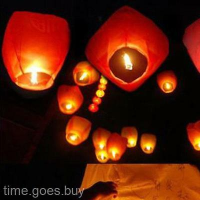 Handmade Chinese Wishing Luck Sky Flying Fire Fire-resistant  KongMing Lantern